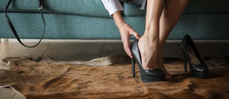 sfaturi sa faci pantofii cu toc mai confortabili